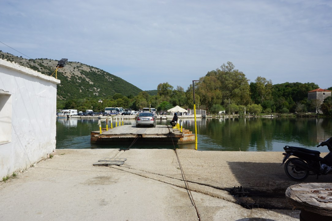 Ferry in Butrint National Park