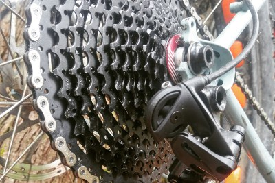 Big range 1×11 drivetrain on a budget! Yes, apparently it CAN be done….