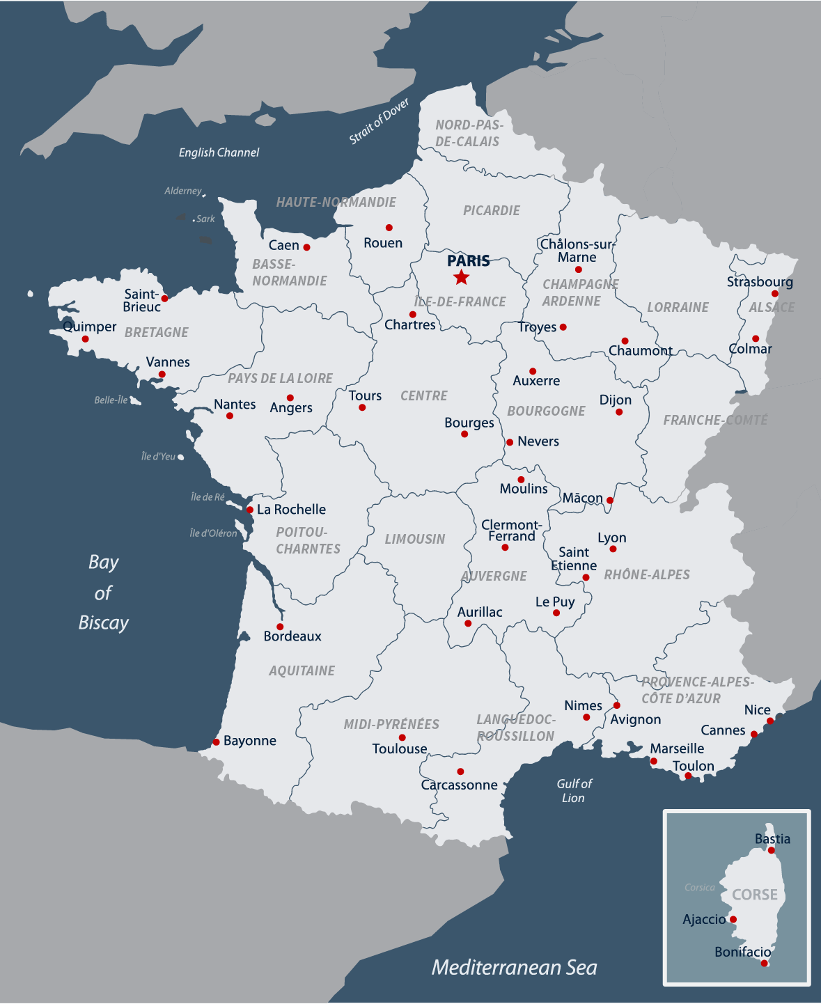 French Geography Amp Weather