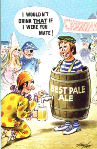 British Comic Postcard Page