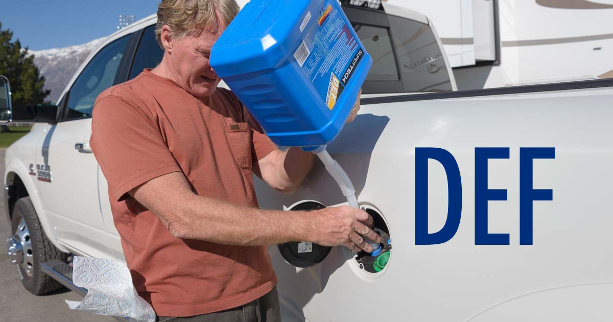 how to put def fluid in a truck which brand is cheapest