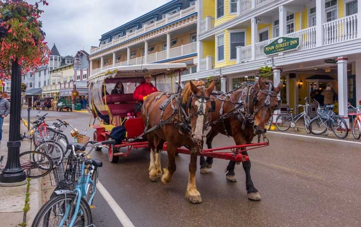 Mackinac Island, Michigan - A Precious Walk Back in Time! | Roads ...
