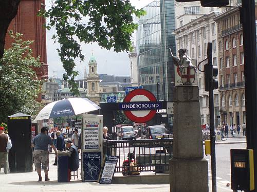 summer on chancery lane city of london england by roadsofstone