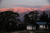 όψη της Sierra del Aconquija από το camping μας
