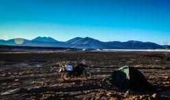 Ξημέρωμα στο altiplano, στα 4000 μ.