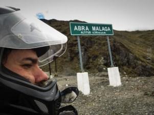 Abra Malaga mountain pass