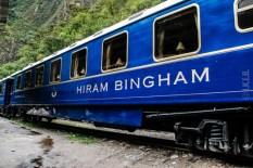 Το τραίνο που φτάνει στο agua calientes έχει πάρει το όνομα του αμερικανού εξερευνητή που ανακάλυψε το Machu Picchu