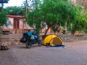camping at Purmamarca