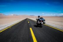 o δρόμος για το Paso Jama