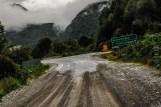 To σημείο που σταματά ο χωματόδρομος, στη διασταύρωση προς Coyhaique και Puerto Cisnes