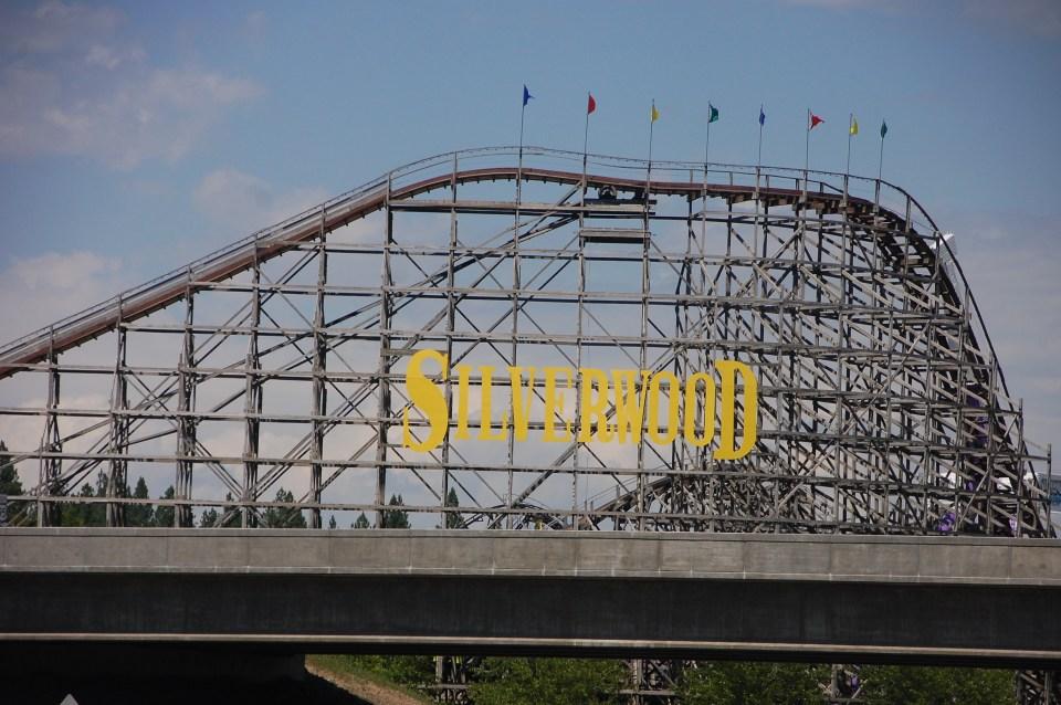 Silverwood Roller Coaster