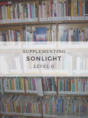 Supplementing Sonlight G