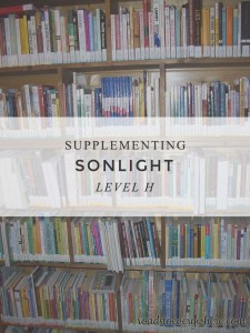 Links for supplementing Sonlight Level H