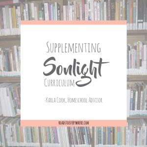 Supplementing Sonlight
