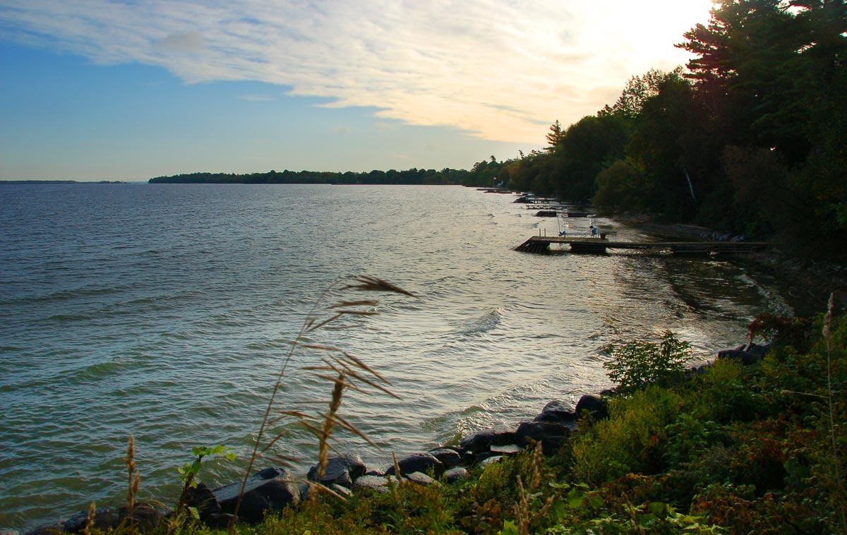 Lake Simcoe shoreline