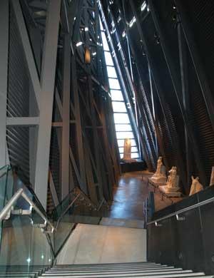 Entering Regeneration Hall