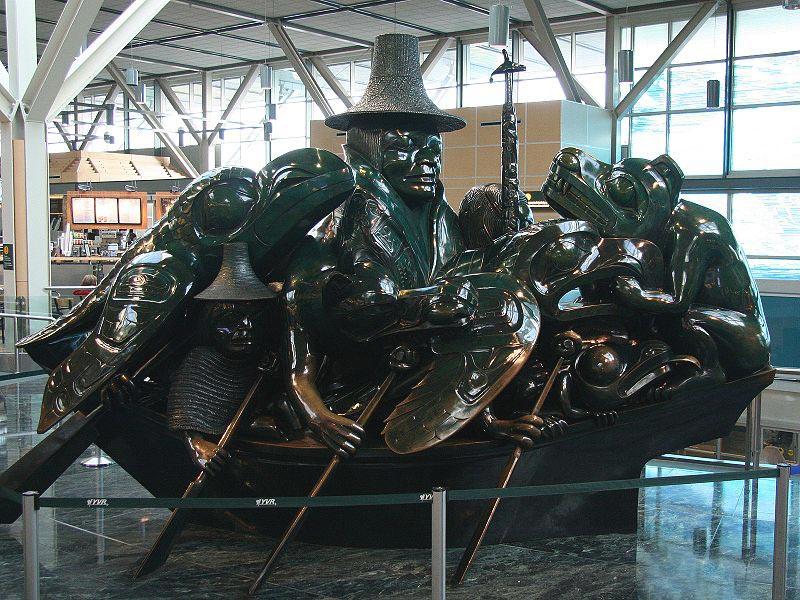 Bill Reid jade canoe Loo Taas spirit of haida gwaii