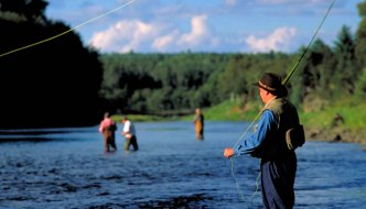 Fishing the Miramichi