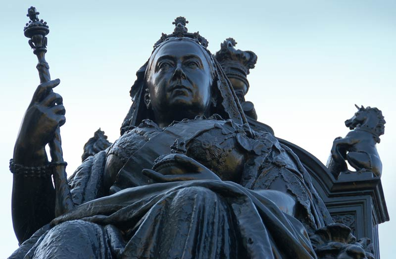 statue of Queen Victoria, Queens Park, Toronto, Canada