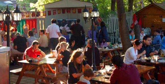 The patio at Bairrada Grillhouse