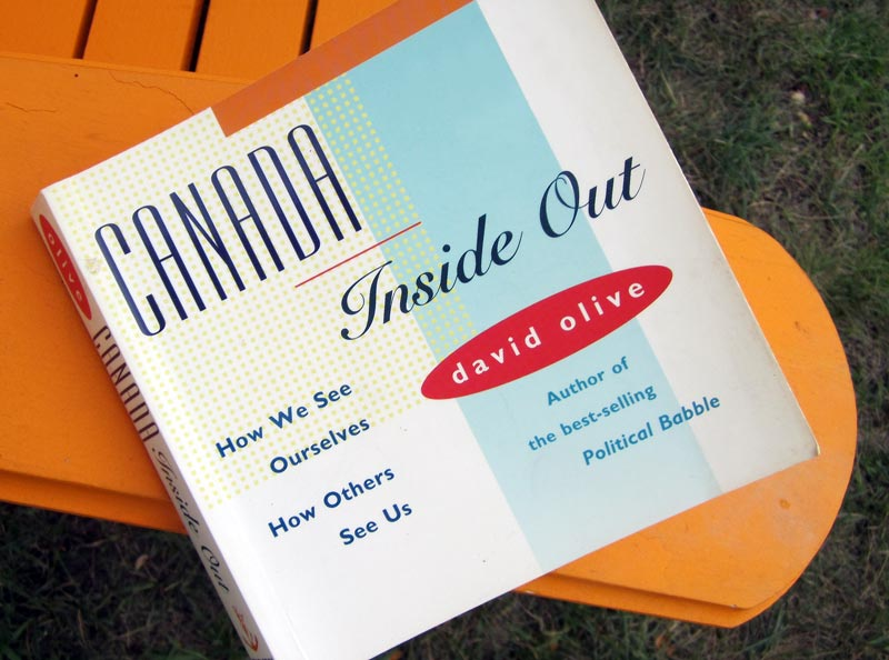 Book cover: Canada Inside Out