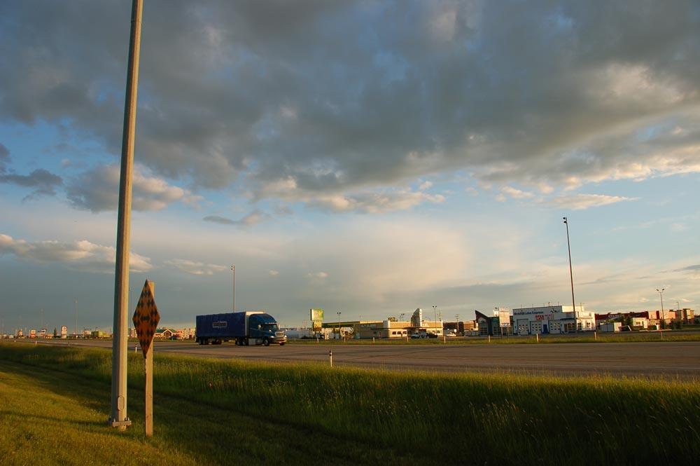 Gasoline Alley, Red Deer, Alberta