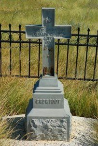 Crowfoot's grave