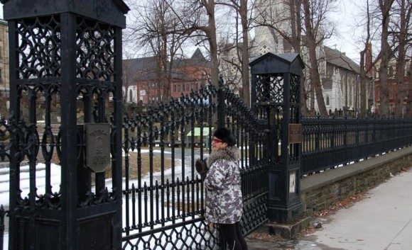old burying ground in Halifax