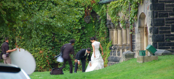 Bride at the University of Toronto