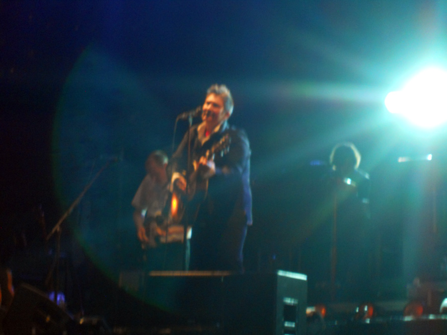 kd lang on stage in Toronto