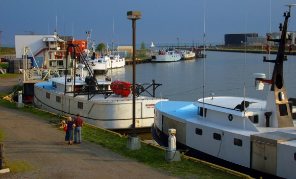 Perch Tug fishing boats at Port Stanley