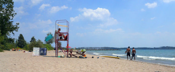 Wards Island lifeguard