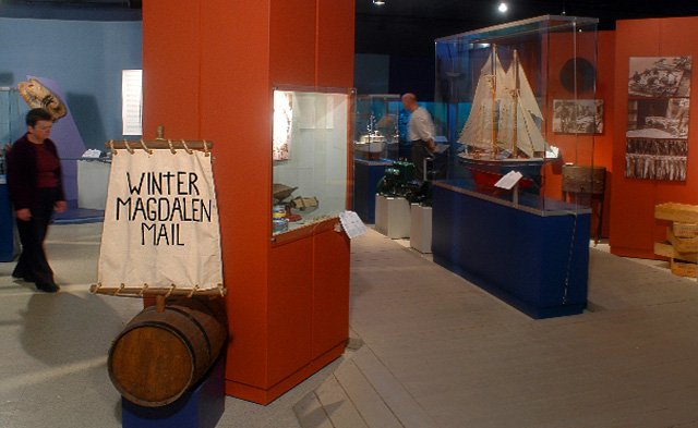 Winter Magdalen Mail at Musée de la Mer