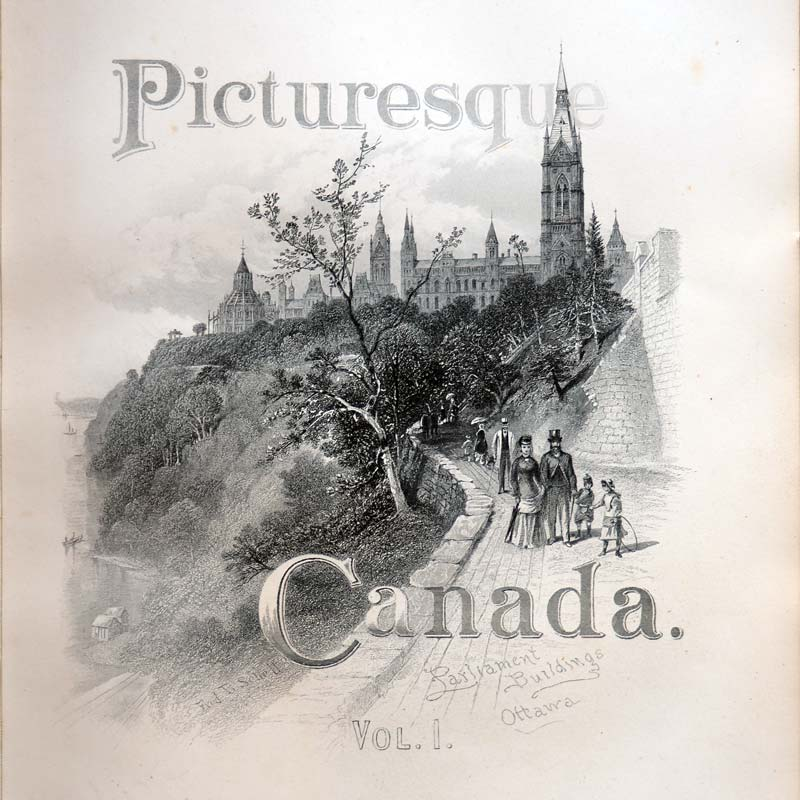 Picturesque Canada Volume One title page