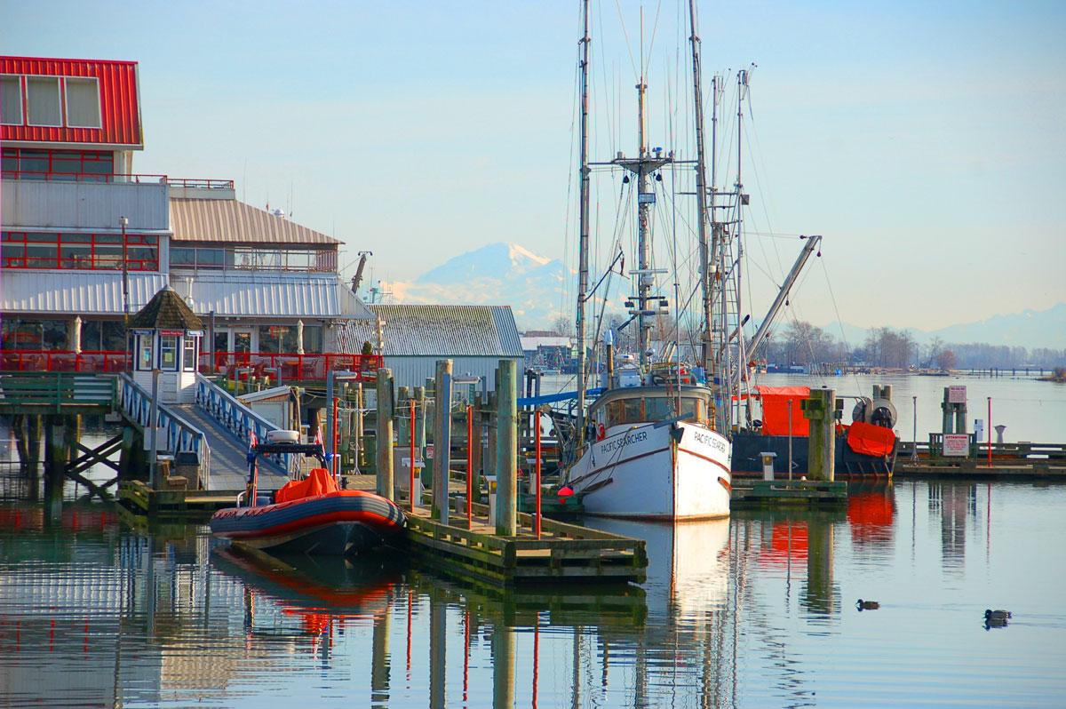 Steveston Fishing Village Canadian food