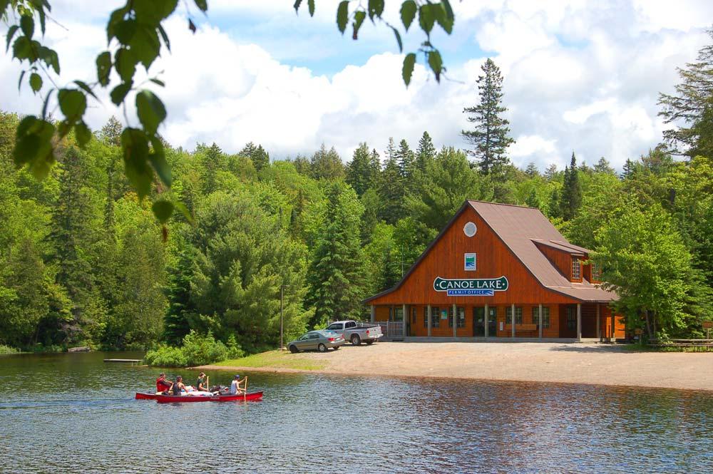 Algonquin Park Canoe Lake Permit Office