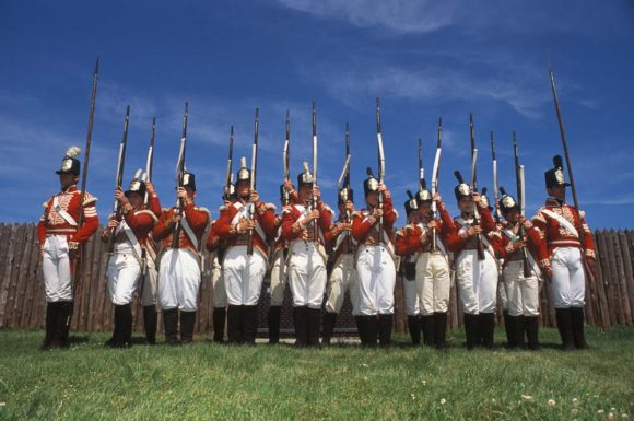 Niagara war-of-1812 soldiers