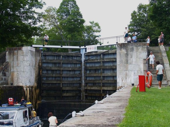 lock gates Kingston Ontario