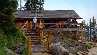 The Lake Agnes Tea House