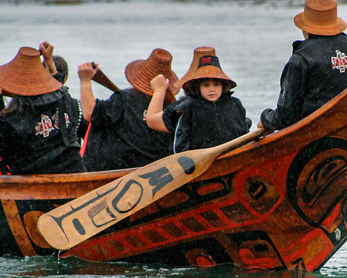 Haida Gwaii Bill Reid's Loo Taas (Wave-Eater)
