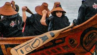 Bill Reid and his Canoe