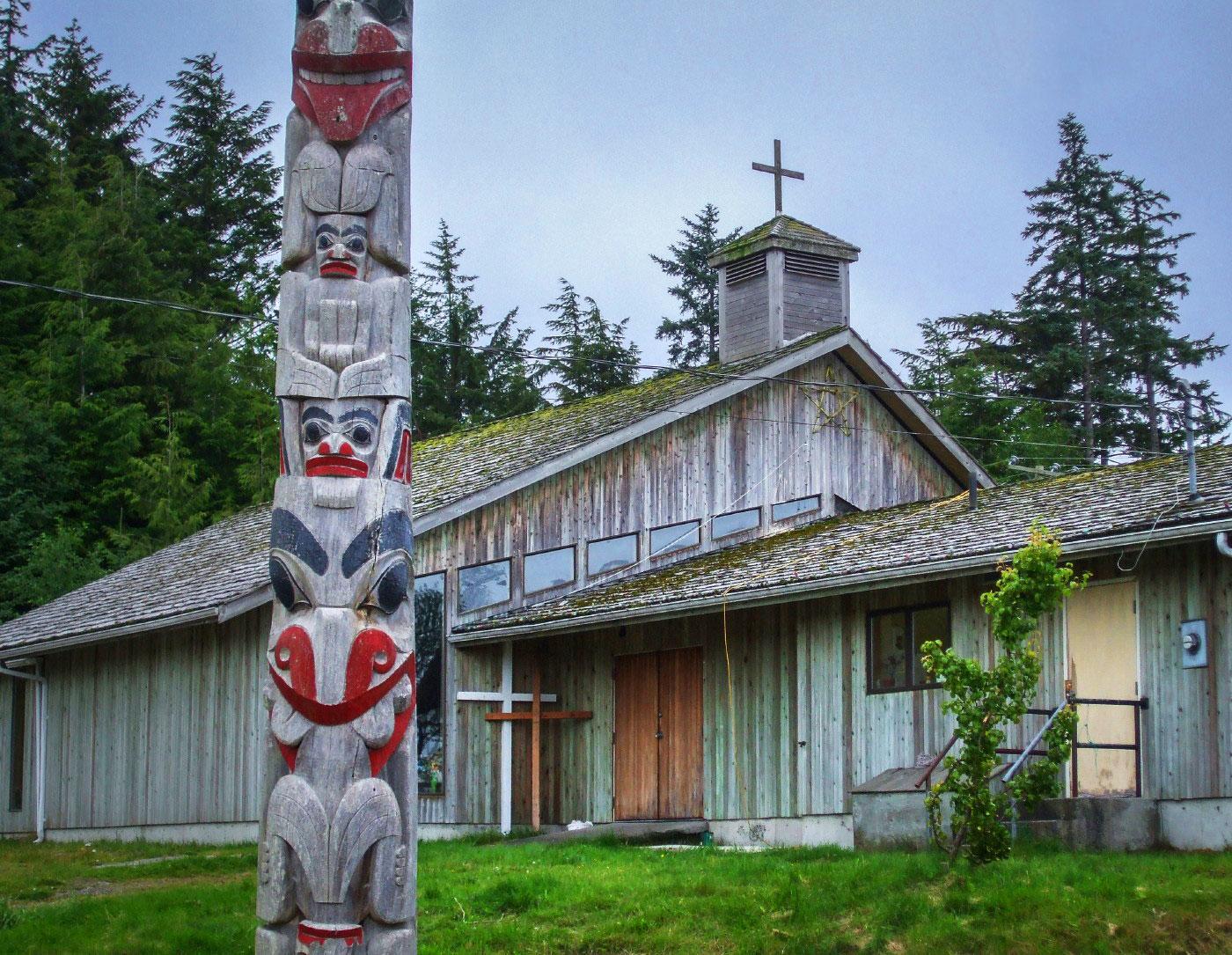 Church in Masset, Haida Gwaii