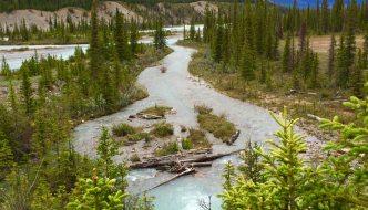 Saskatchewan River Crossing, in Alberta