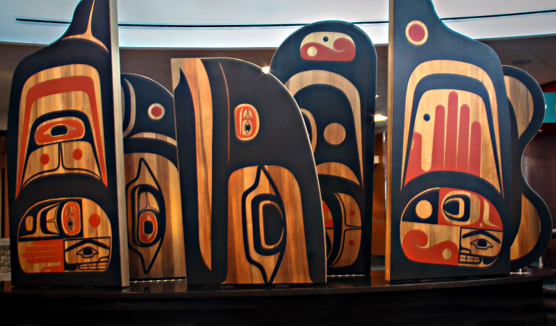Freedom to Move art at YVR by Steve Smith