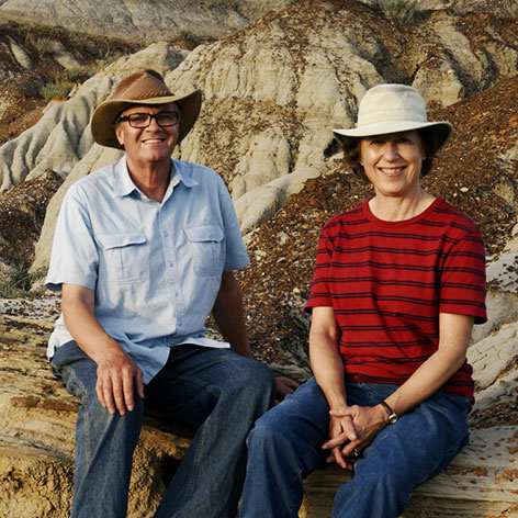 Robin & Arlene Karpan Canadian travel writers