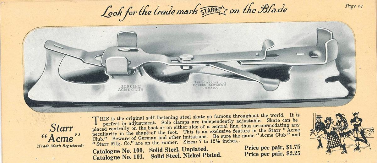 1920s Acme Spring Skate