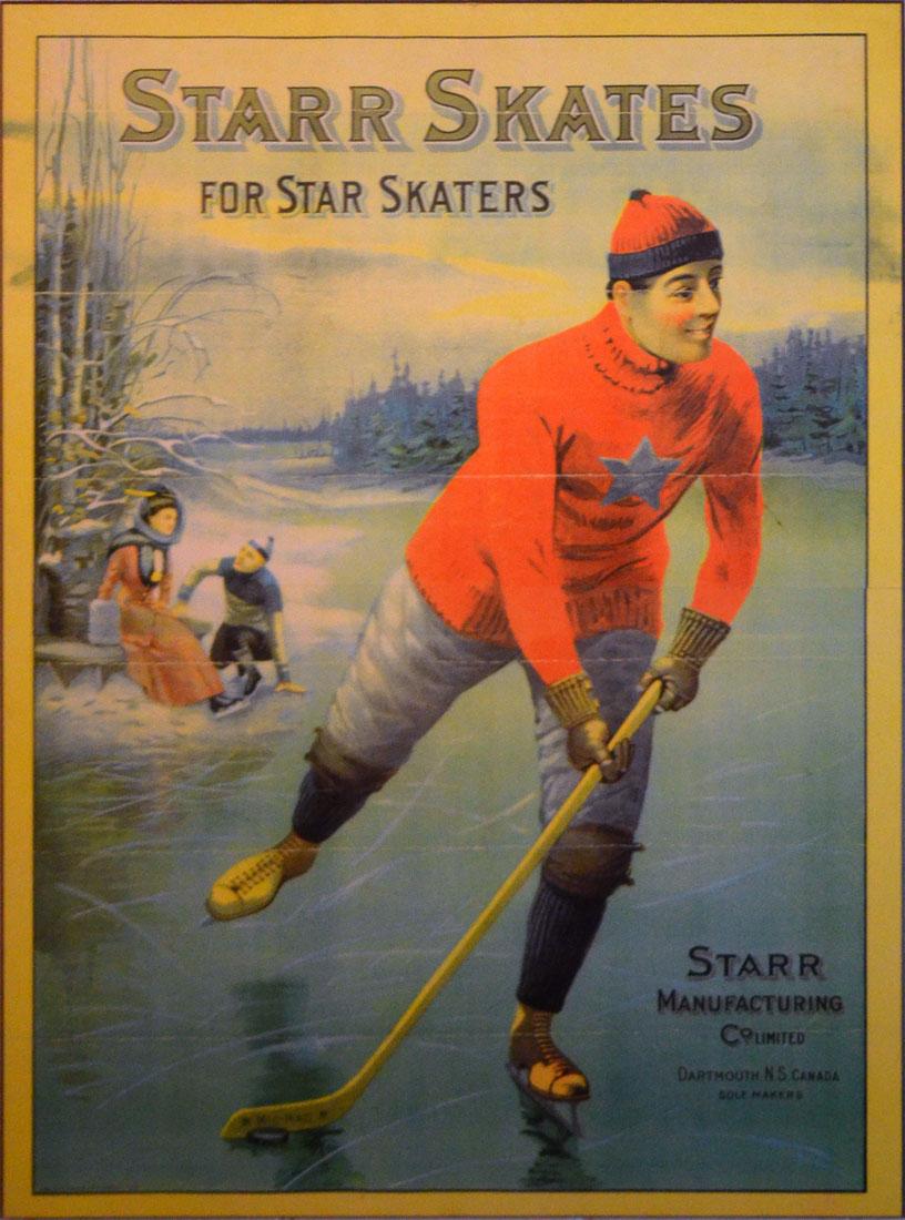 Starr skates poster