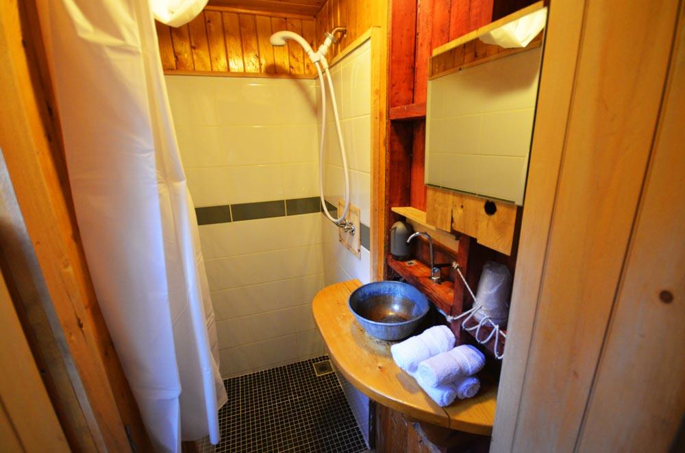 Canopée Lit treehouse bathroom