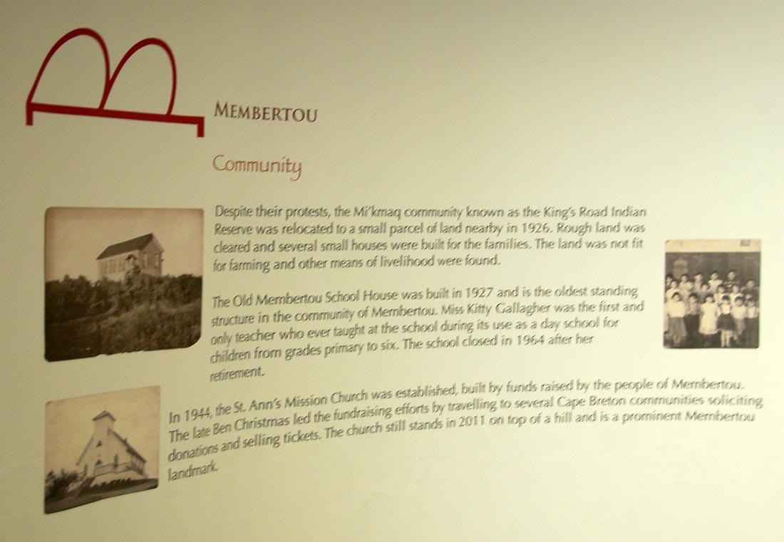 Membertou community