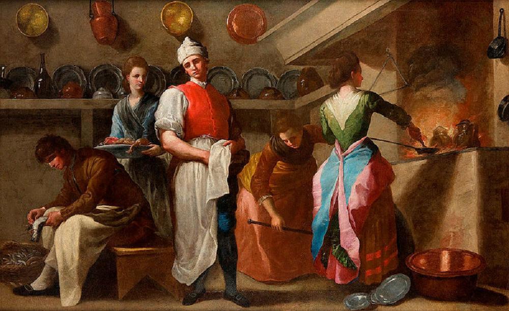 ramon-bayeu-y-subias-the-kitchen-before-1793